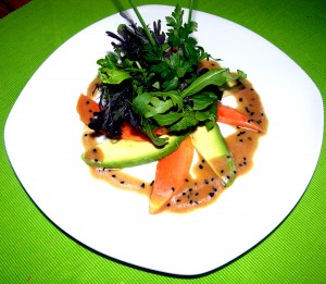 papaya-avocado-salat