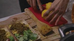 polenta&salat